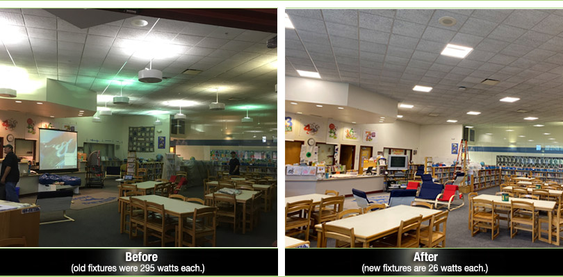 School Lighting: LED Retrofit